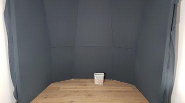 ADS Acoustic Design System Regiefront im Bau