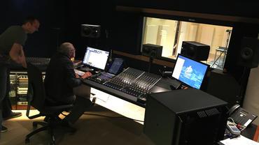 Bauer Studios Johannes Wohlleben during the listening test