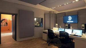 A100 Breitbandabsorber in den Playroom Studios Frankfurt