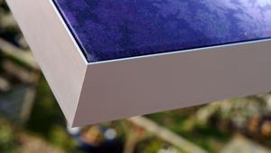 A700 aluminium frame with custom printed fabric
