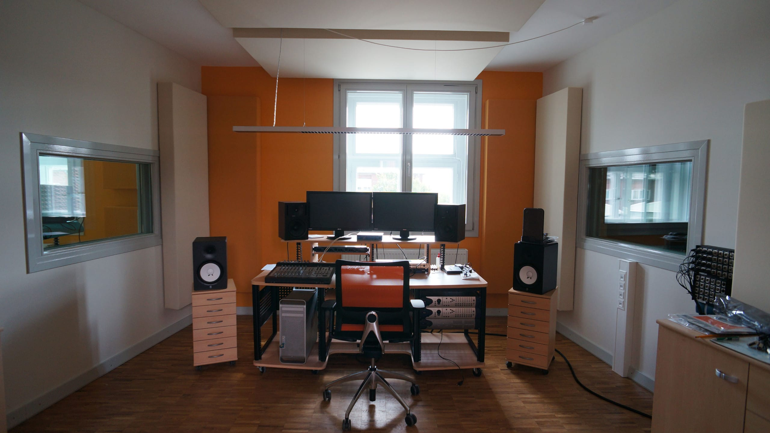 Control room for music