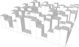 2D Diffusor Design by mbakustik
