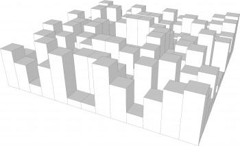 2D Diffusor Entwurf mbakustik