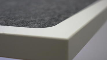 Sprechertisch Absorber Desk Mono AD165 Detail