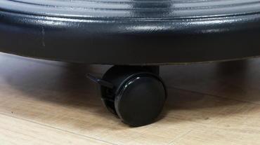 Sprechertisch Absorber Desk Mono AD165 Lenkrolle, gebremst