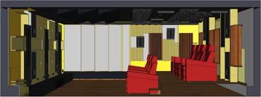 Schnitt in der Entwurfsphase | HAG Fairland Custom Reference