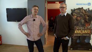 Markus Bertram mit Musotalk bei M&S Music Studio in Offenbach