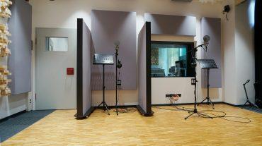 Radio NRW | Aufnahme mit variablen Tonwänden TW1