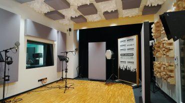 Radio NRW | Aufnahme mit A100 Absorbern und RPG Skyline Diffusoren